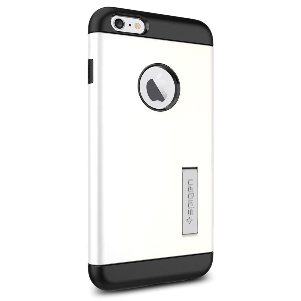 328c795f3c Spigen Slim Armor Case for iPhone 6 Plus/6s Plus (Shimmery White, Retail  Packaging)
