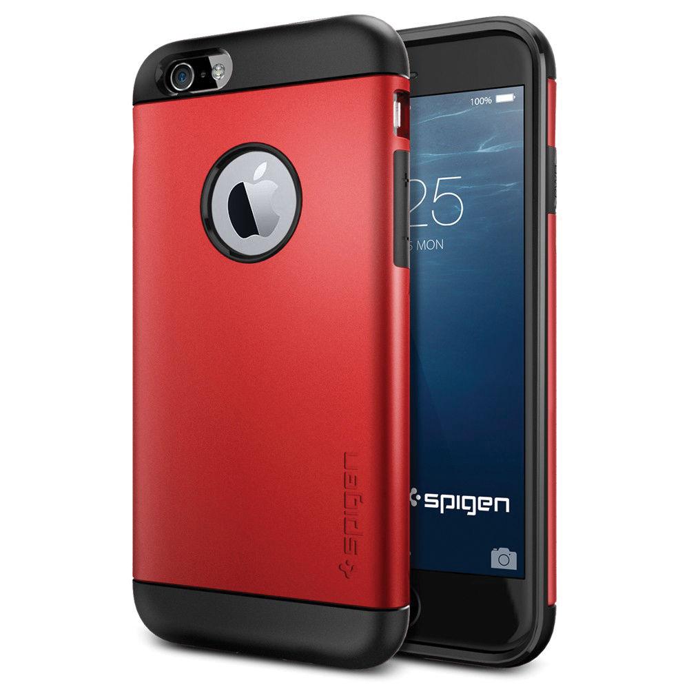 spigen slim armor case for iphone 6 6s sgp10956 b h photo video. Black Bedroom Furniture Sets. Home Design Ideas