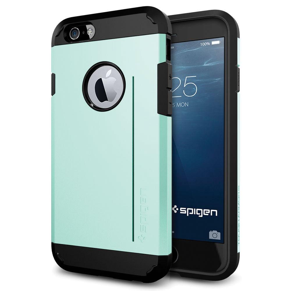 Spigen Tough Armor S Case for iPhone 6/6s (Mint) SGP11042 Bu0026H