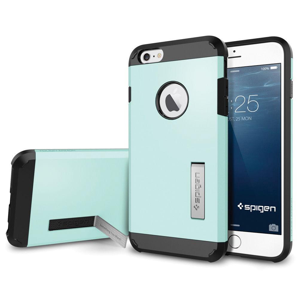 8690d8e7028 Spigen Tough Armor Case for iPhone 6 Plus/6s Plus (Mint)