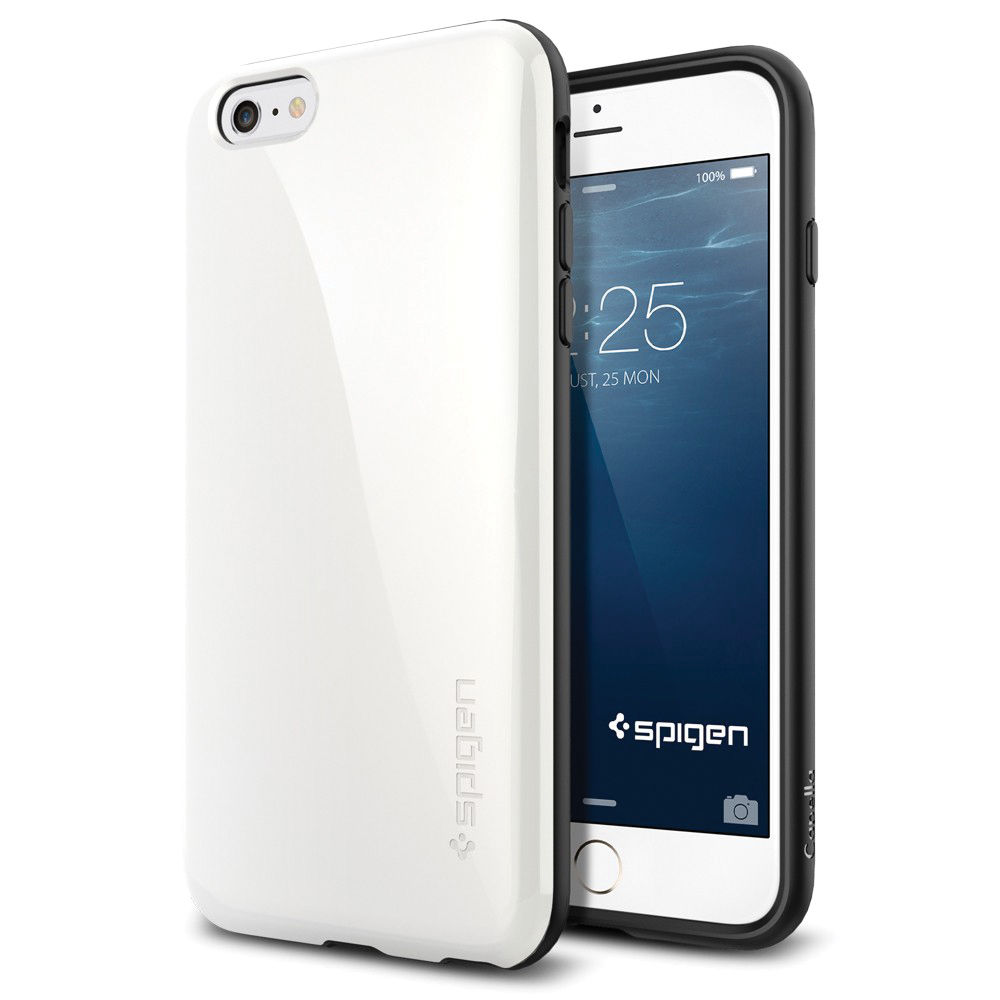 spigen capella iphone 6 plus case shimmery white. Black Bedroom Furniture Sets. Home Design Ideas