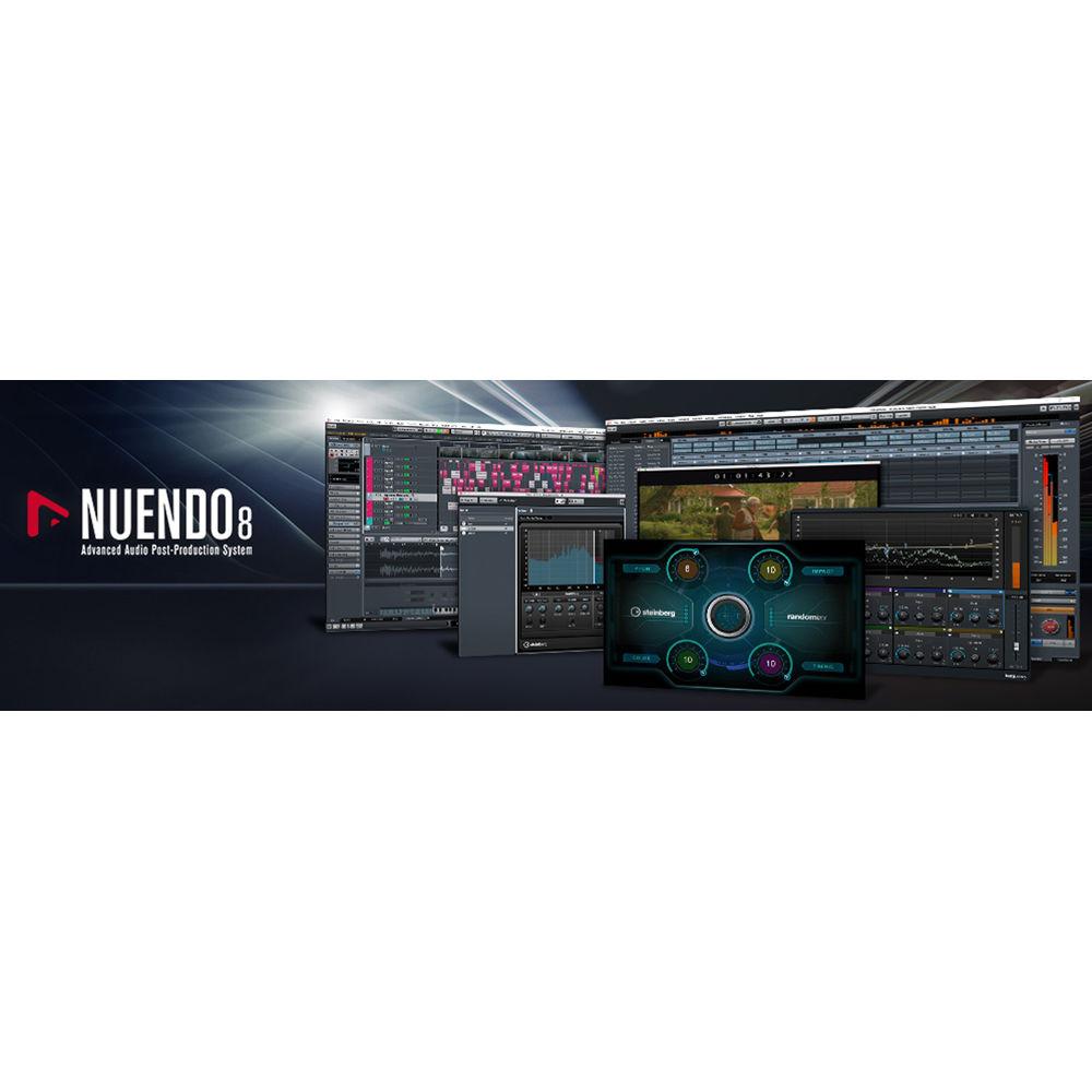 Steinberg Nuendo 7 to Nuendo 8 Upgrade License 46648 B&H Photo