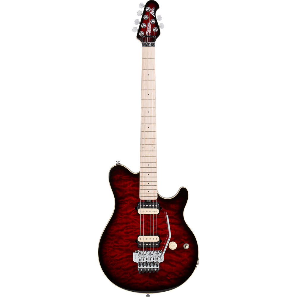 sterling by music man ax40d electric guitar ax40drrb b h photo. Black Bedroom Furniture Sets. Home Design Ideas