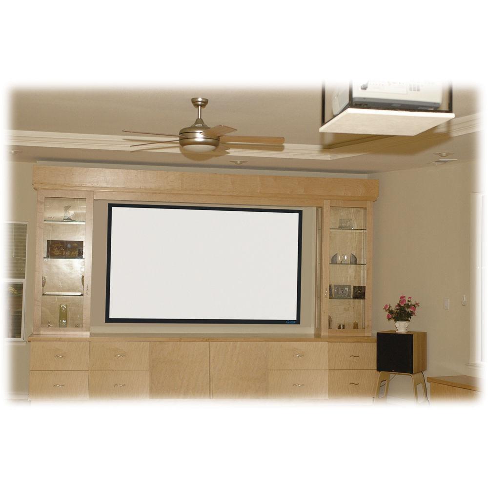stewart filmscreen cima 135 169 hdtv format fixed frame projection screen white