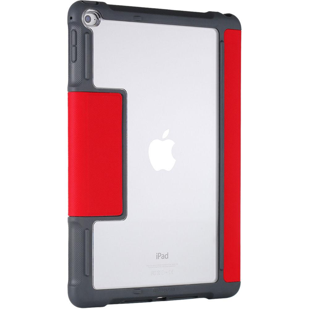Stm Dux Case For Ipad Air 2 Red Stm 222 104j 29 B Amp H