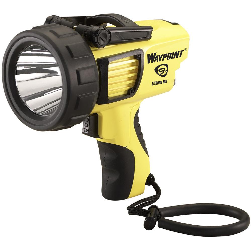 Led Spotlight Rechargeable: Streamlight Waypoint Rechargeable Pistol-Grip Spotlight 44910