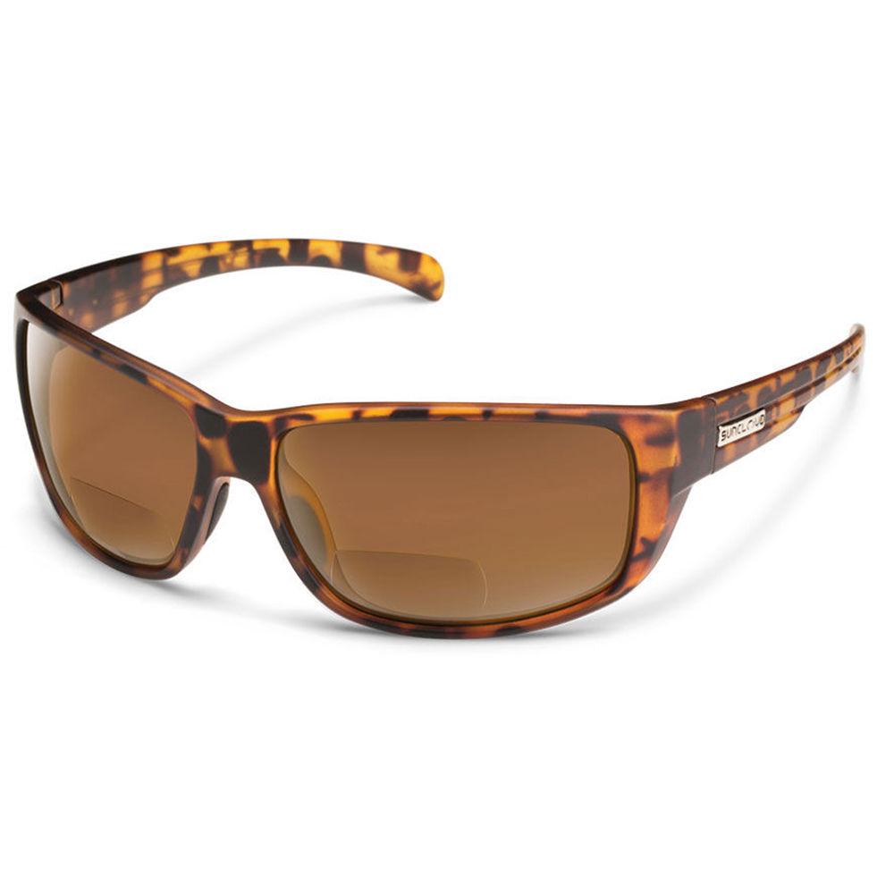 f79052ff7d SUNCLOUD OPTICS Milestone Reader Sunglasses 2.5x (Matte Tortoise Frames