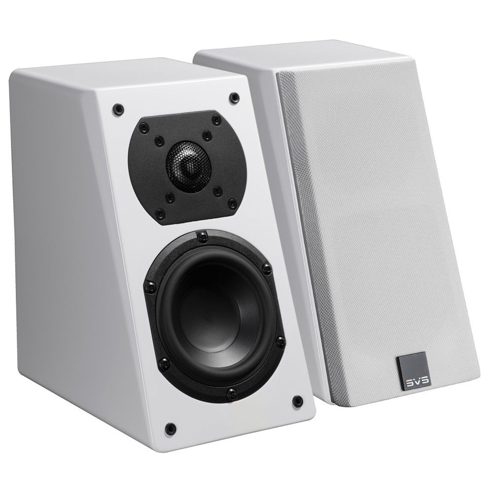 SVS Prime Elevation 2 Way Atmos Add On Speakers Piano Gloss White