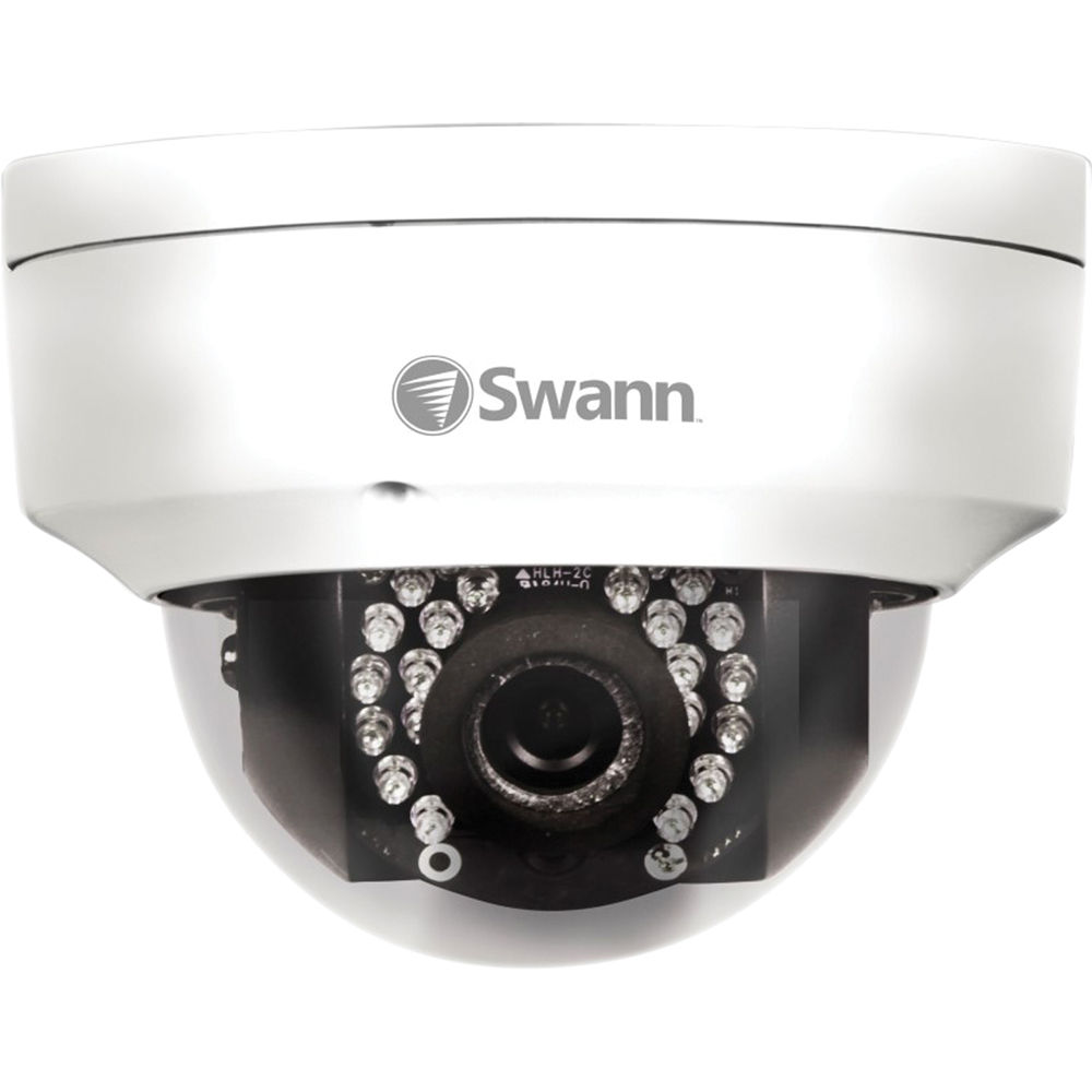 Swann NHD-821 1080p HD IP Dome Security Camera SWNHD-821CAM B&H