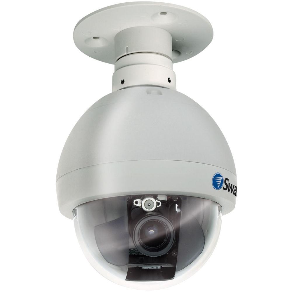 swann pro 645 indoor outdoor pan tilt dome camera swpro 645cam swann pro 645 indoor outdoor pan tilt dome camera