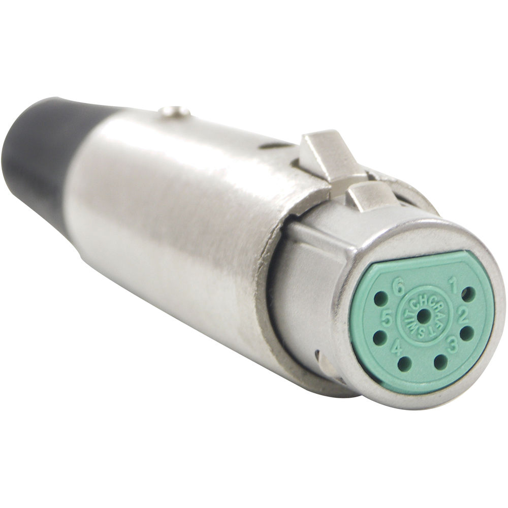 Switchcraft A Series 7 Pin Xlr Male Cable Mount A7m Bh Photo Wiring Guide Nickel Silver