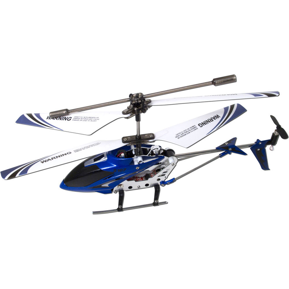 SYMA S107G Phantom Helicopter (Blue) 61079-02 B&H Photo Video