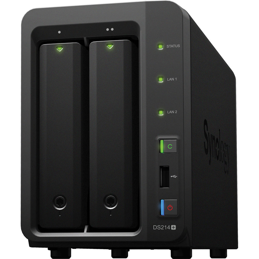 Synology Diskstation Ds214 2 Bay Diskless Nas Server