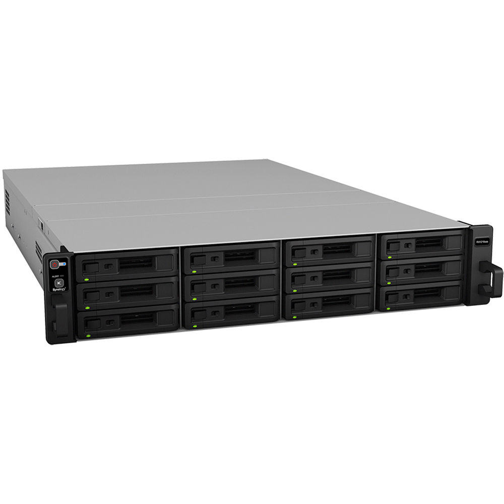 Synology rx1216sas 12 bay storage expansion enclosure for Storage bay