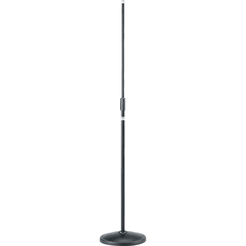 tama ms200dbk straight microphone stand with round base ms200dbk. Black Bedroom Furniture Sets. Home Design Ideas