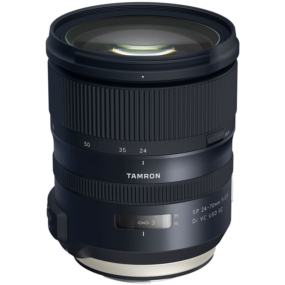 Tamron Sp 24 70mm F 2 8 Di Vc Usd G2 Lens For Canon Ef
