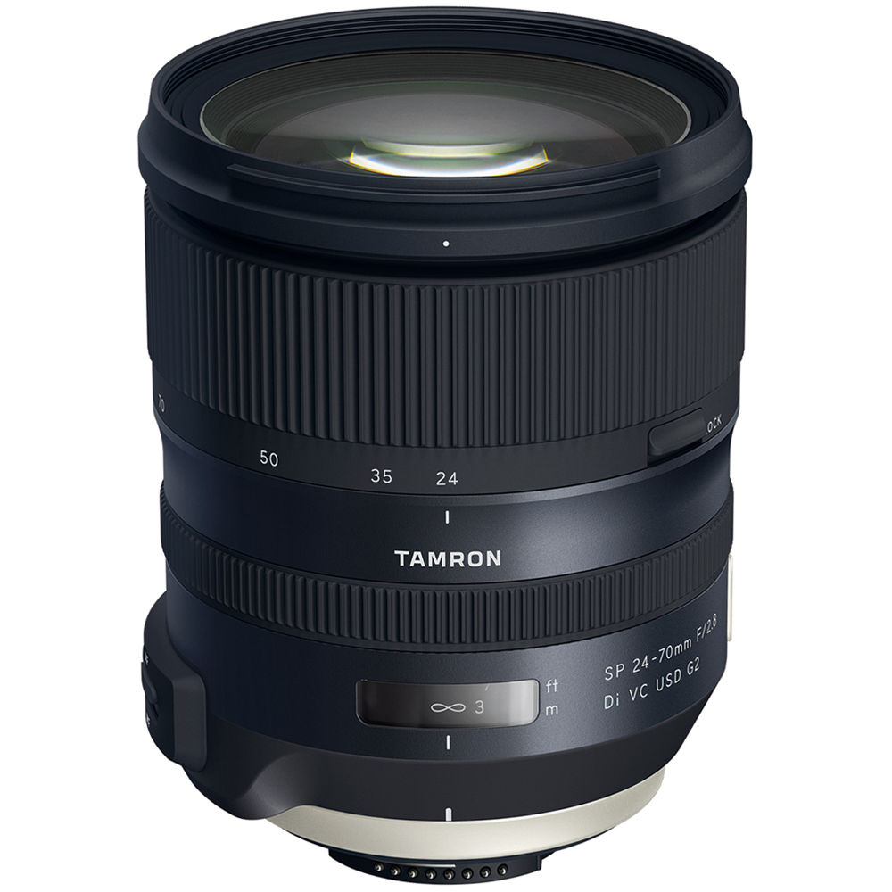 tamron sp 24 70mm f 2 8 di vc usd g2 lens for nikon f. Black Bedroom Furniture Sets. Home Design Ideas