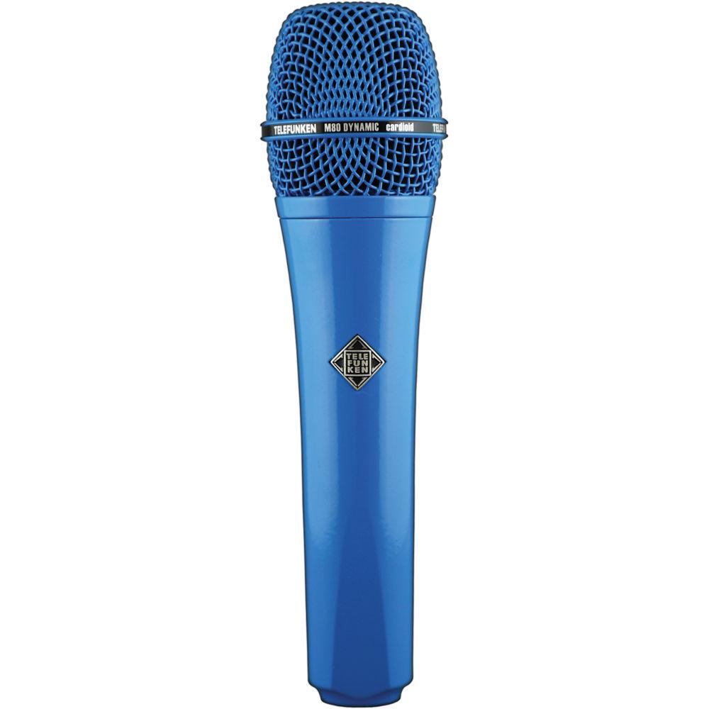 Telefunken M80 Custom Dynamic Handheld Microphone (Blue) M80