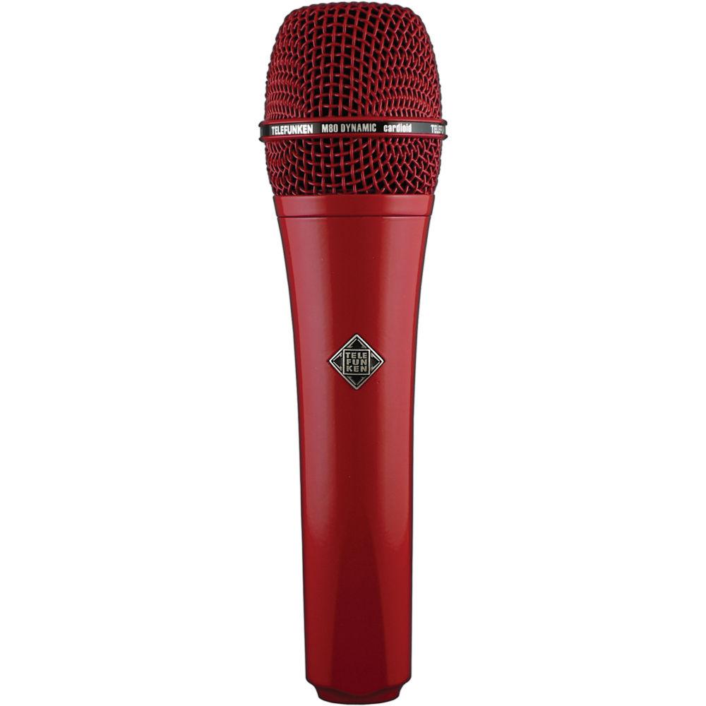 Telefunken M80 Custom Dynamic Handheld Microphone Red