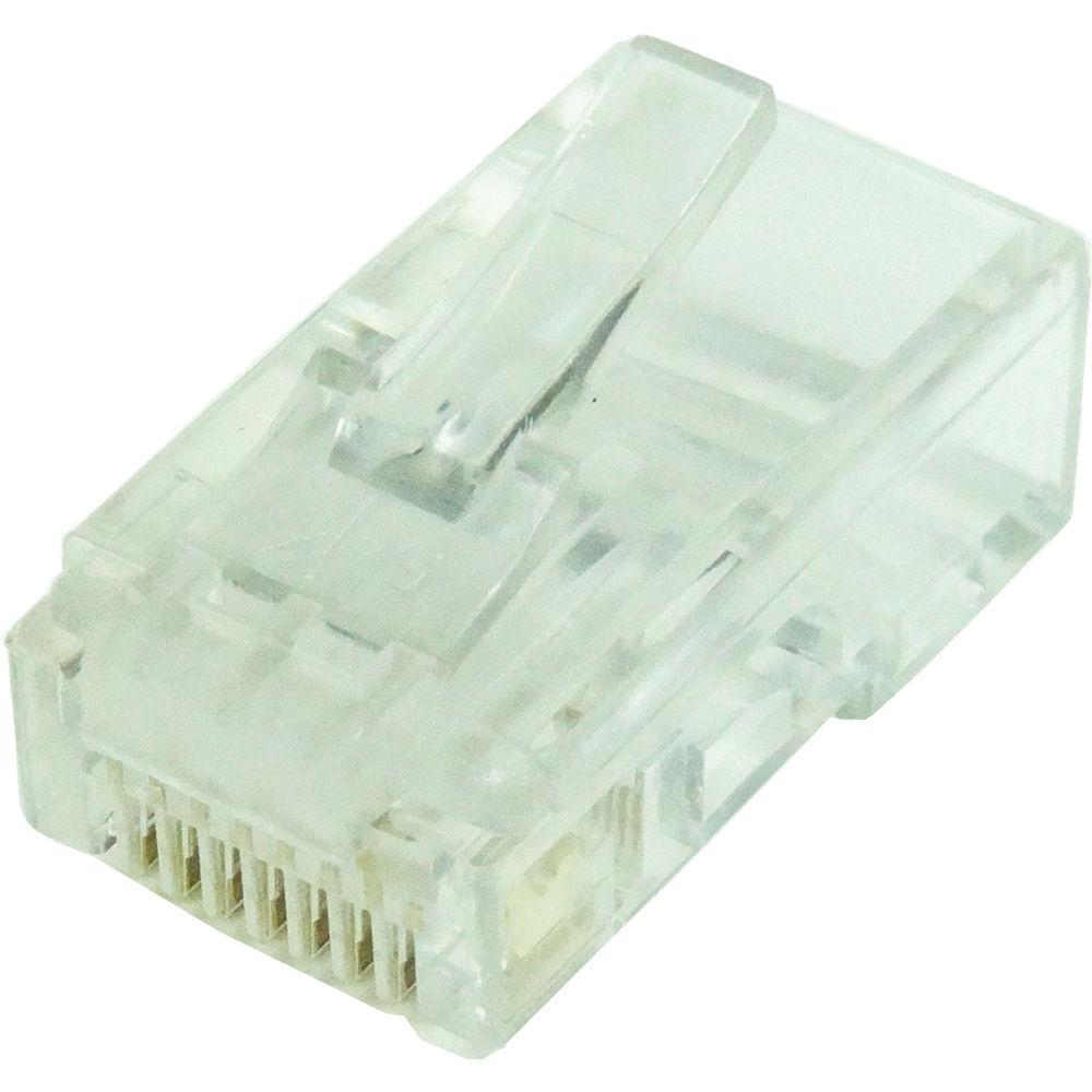 Tera Grand CAT5 50u Solid Wire Modular Plug (Pack of 100)  sc 1 st  Bu0026H : cat5 modular plug wiring - yogabreezes.com