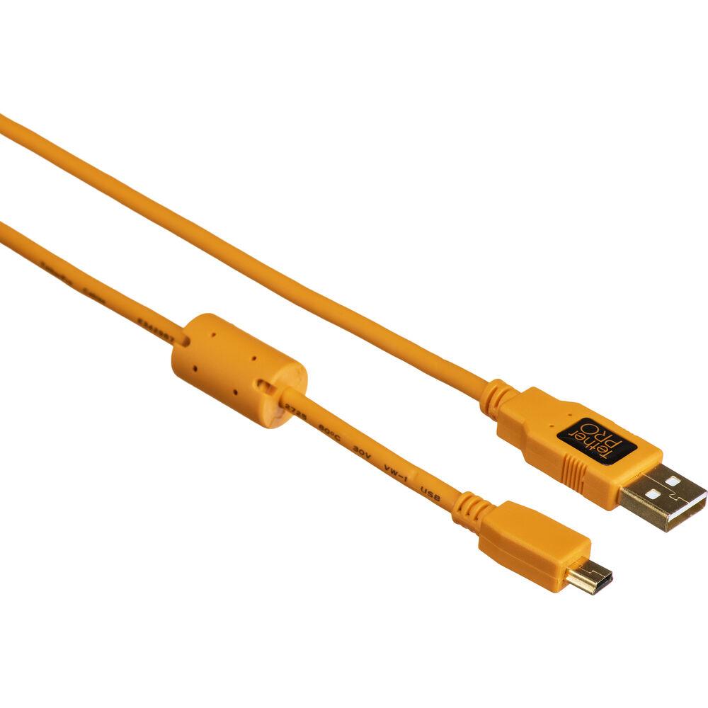 Tether Tools TetherPro USB 2.0 Type-A to 5-Pin Mini-USB CU5407