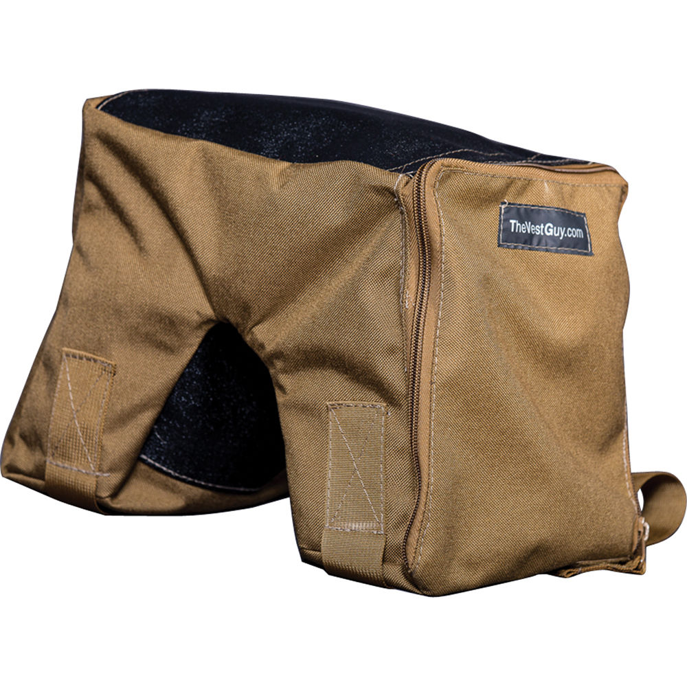 The Vest Guy Bean Bag Camera Support Large Coyote