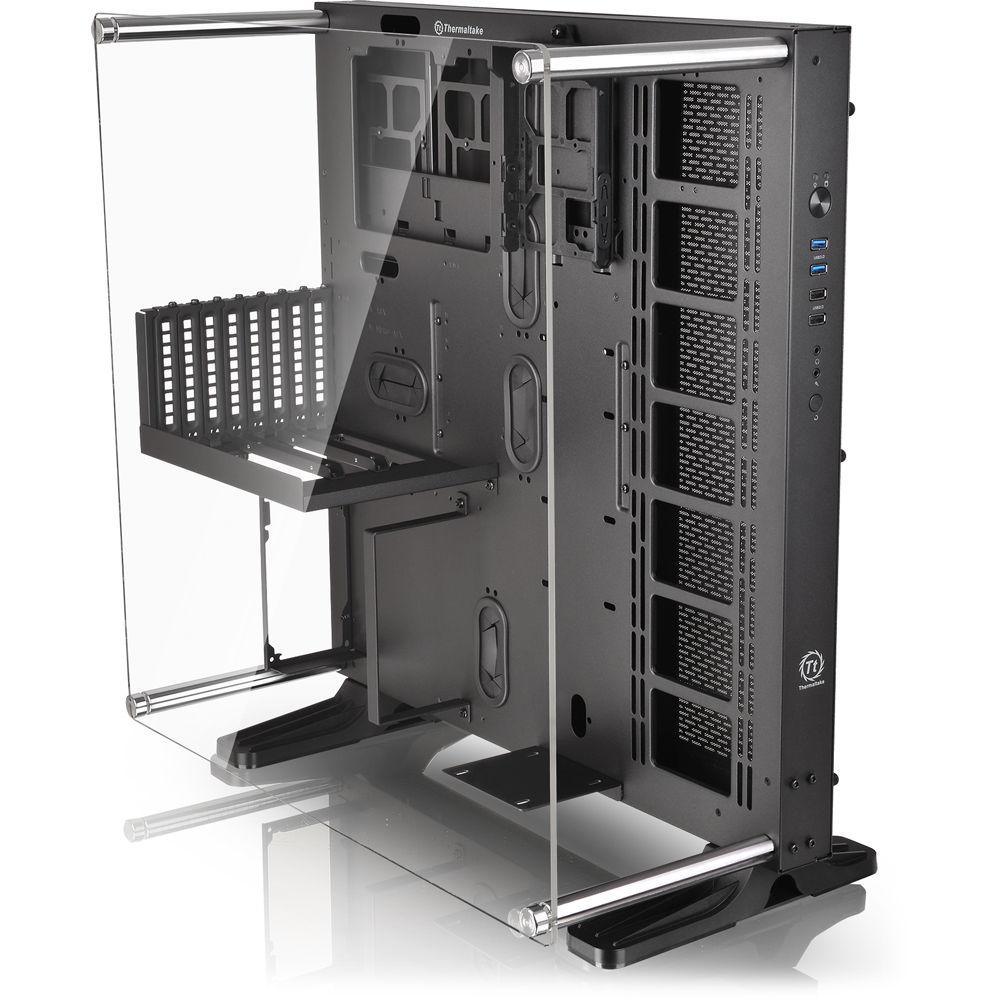 Thermaltake Core P5 Mid Tower Case Black Ca 1e7 00m1wn