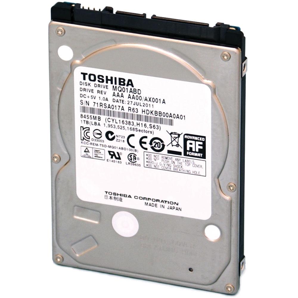 Toshiba 500GB MQ01ABD Series 25 Hard Disk Drive