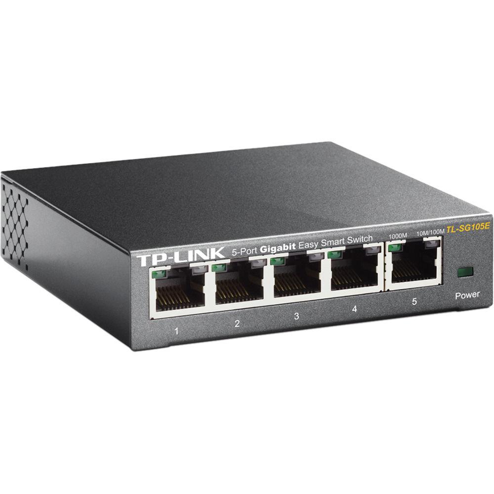 ba6a0b8be TP-Link TL-SG105E 5-Port Gigabit Easy Smart Switch TL-SG105E B H