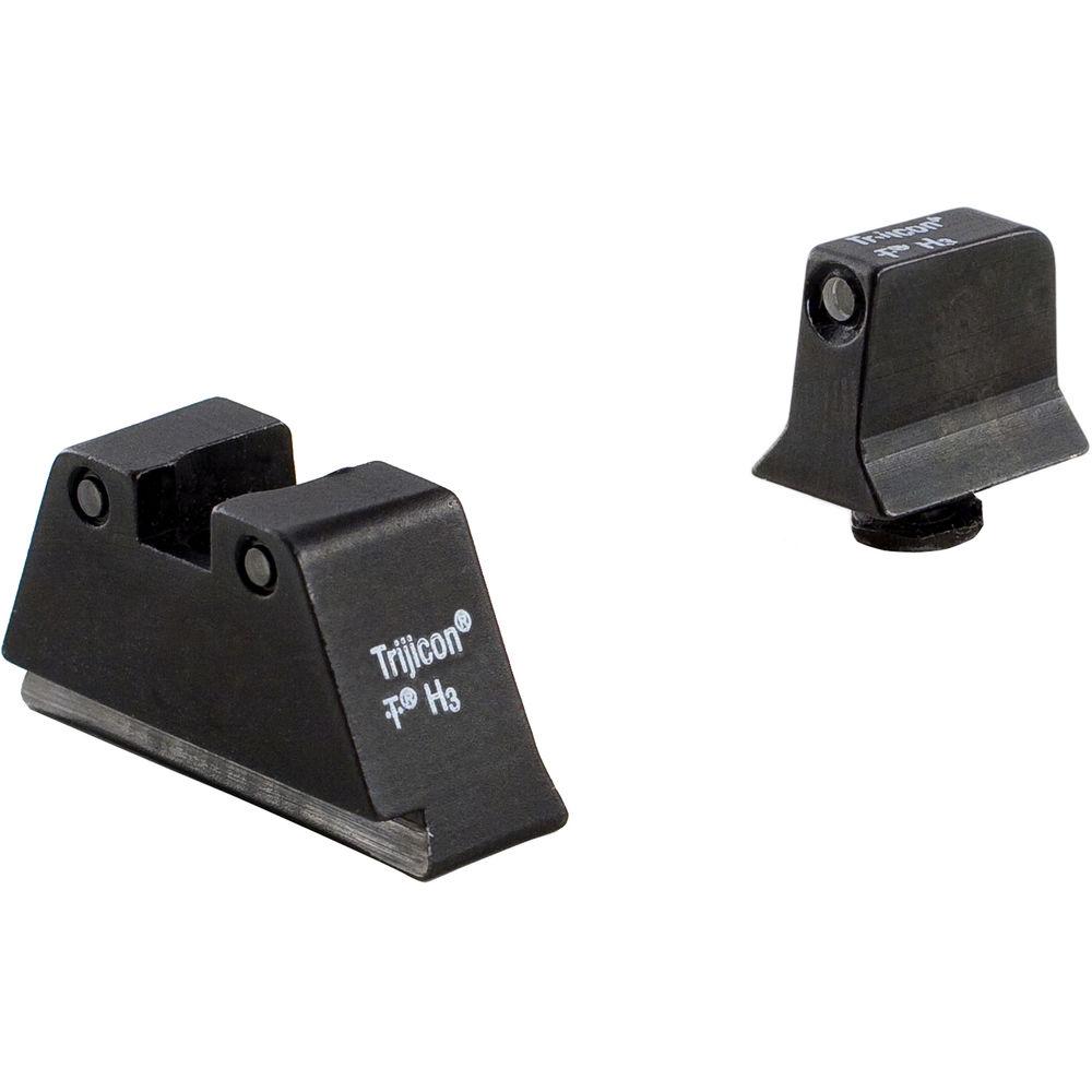 trijicon glock suppressor night sight set gl201 c 600661 b h