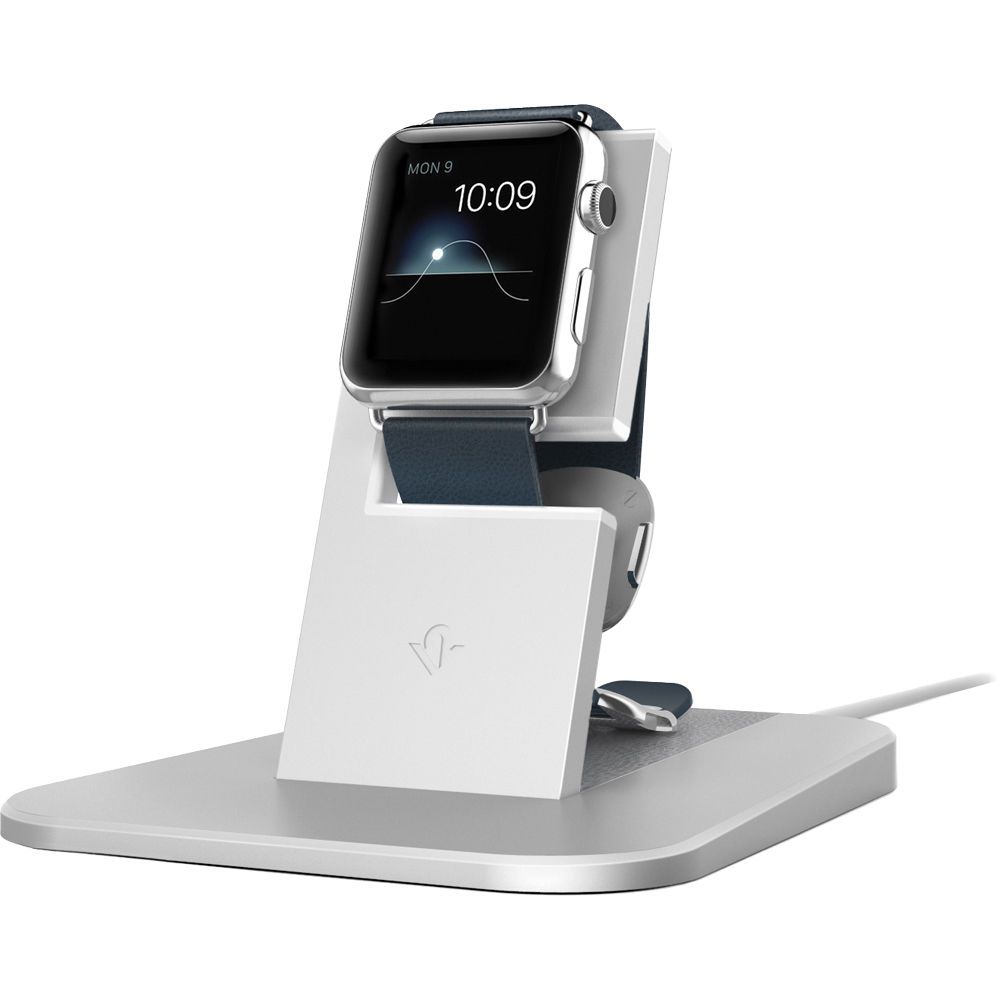 twelve south apple watch  Twelve South HiRise Stand for Apple Watch (Silver) 12-1503 B&H