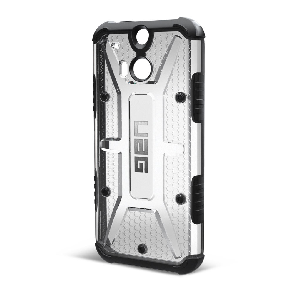 new style d021e 7aab1 Urban Armor Gear Composite Case for HTC One M8 UAG-HTCM8-ICE B&H
