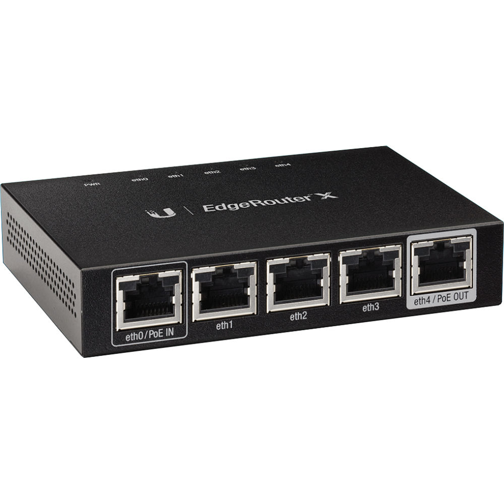 Ubiquiti Networks Er X Edgerouter Bh Photo Video 4 Way Rj45 Switch Box