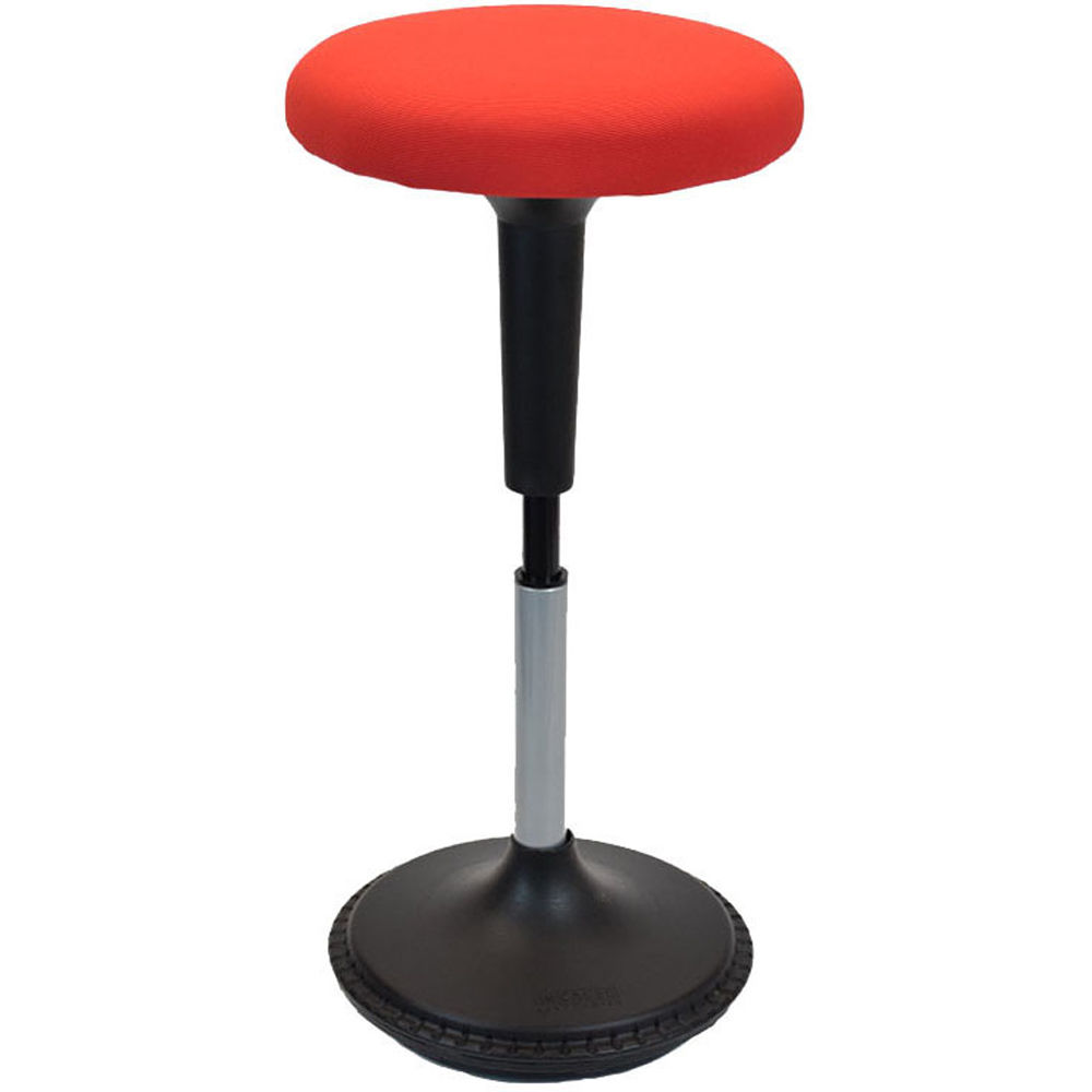 Uncaged Ergonomics Wobble Stool With Round Seat Wsf R B Amp H