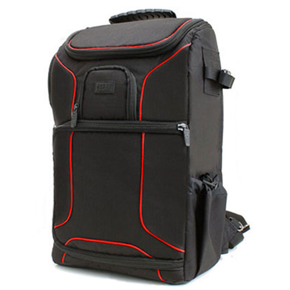USA GEAR USA Gear S17 DSLR Camera Backpack (Red ...