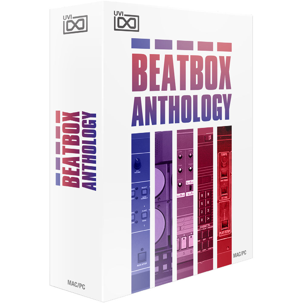 uvi beat box anthology virtual drum machine 1105 28 b h photo. Black Bedroom Furniture Sets. Home Design Ideas