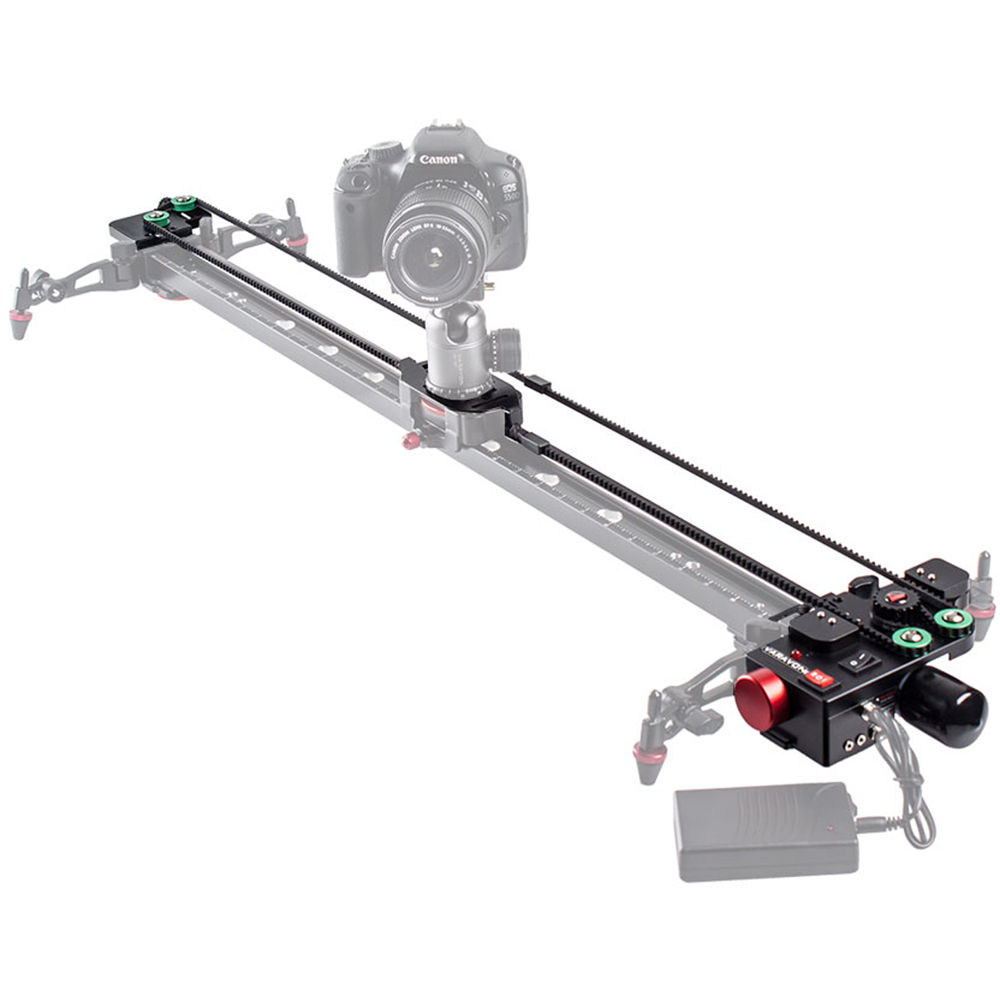Varavon motorroid l 2000 slider motorized kit motorr l2000 b h Motorized video slider