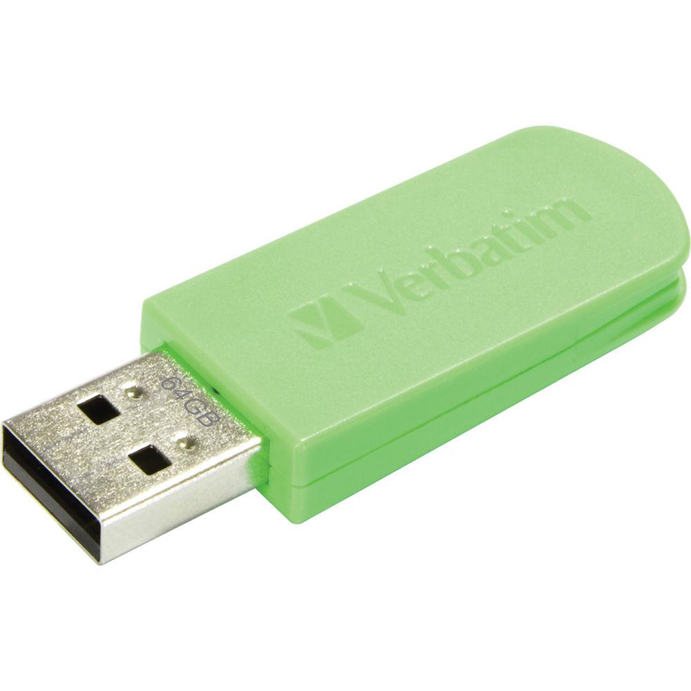 how to use a verbatim usb flash drive