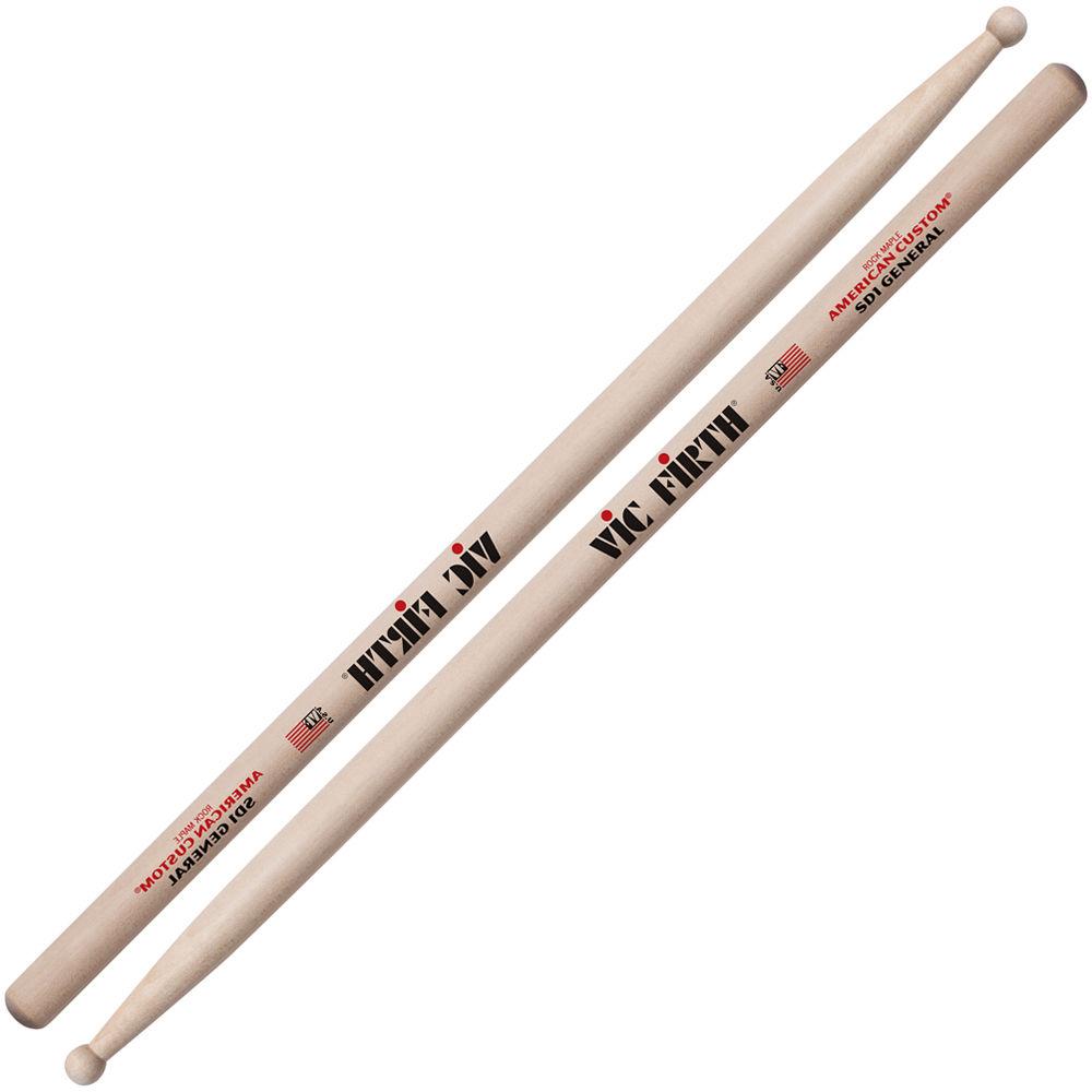 vic firth american custom maple drumsticks sd1 general sd1 b h