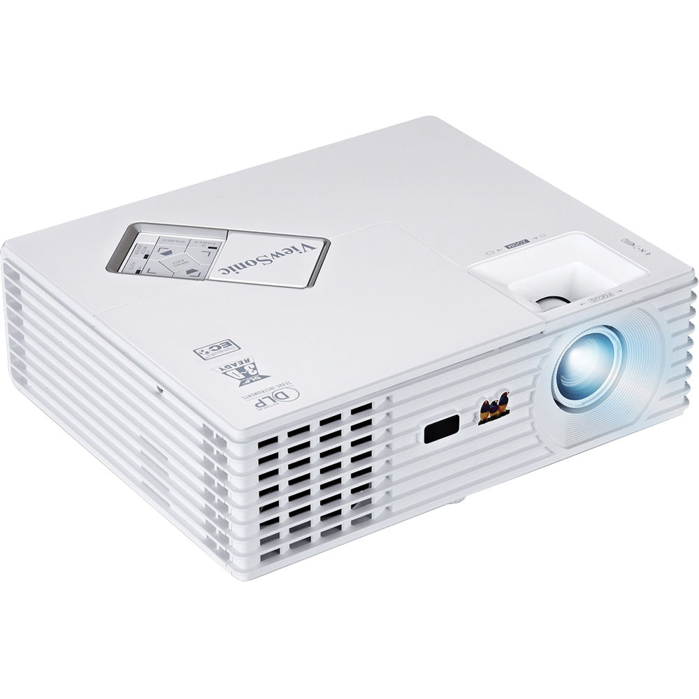 Viewsonic pjd5232l portable 3d ready xga dlp projector for Dlp portable projector