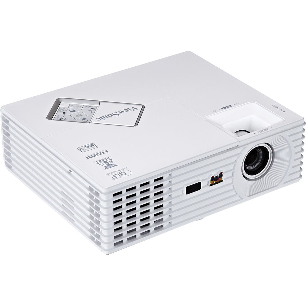 Viewsonic pjd5234l portable 3d ready xga dlp projector for Dlp portable projector