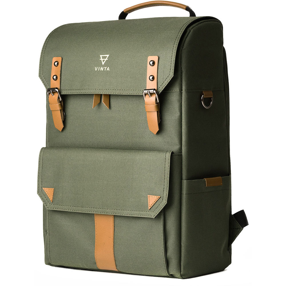 Vinta S-Series Backpack Travel Bag (Forest) SF-T01 B&H Photo