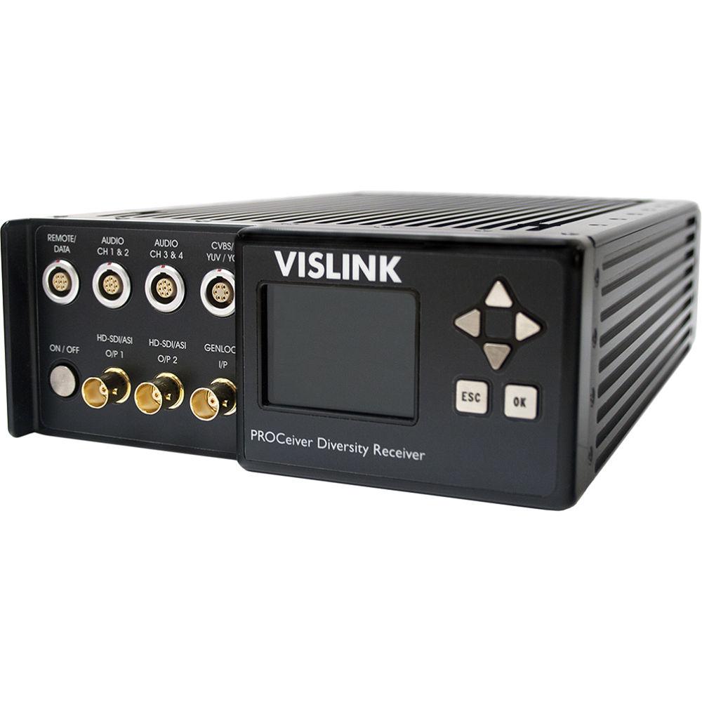 Vislink Proceiver Portable Receiver Kit For Herocast 9015670 B U0026h