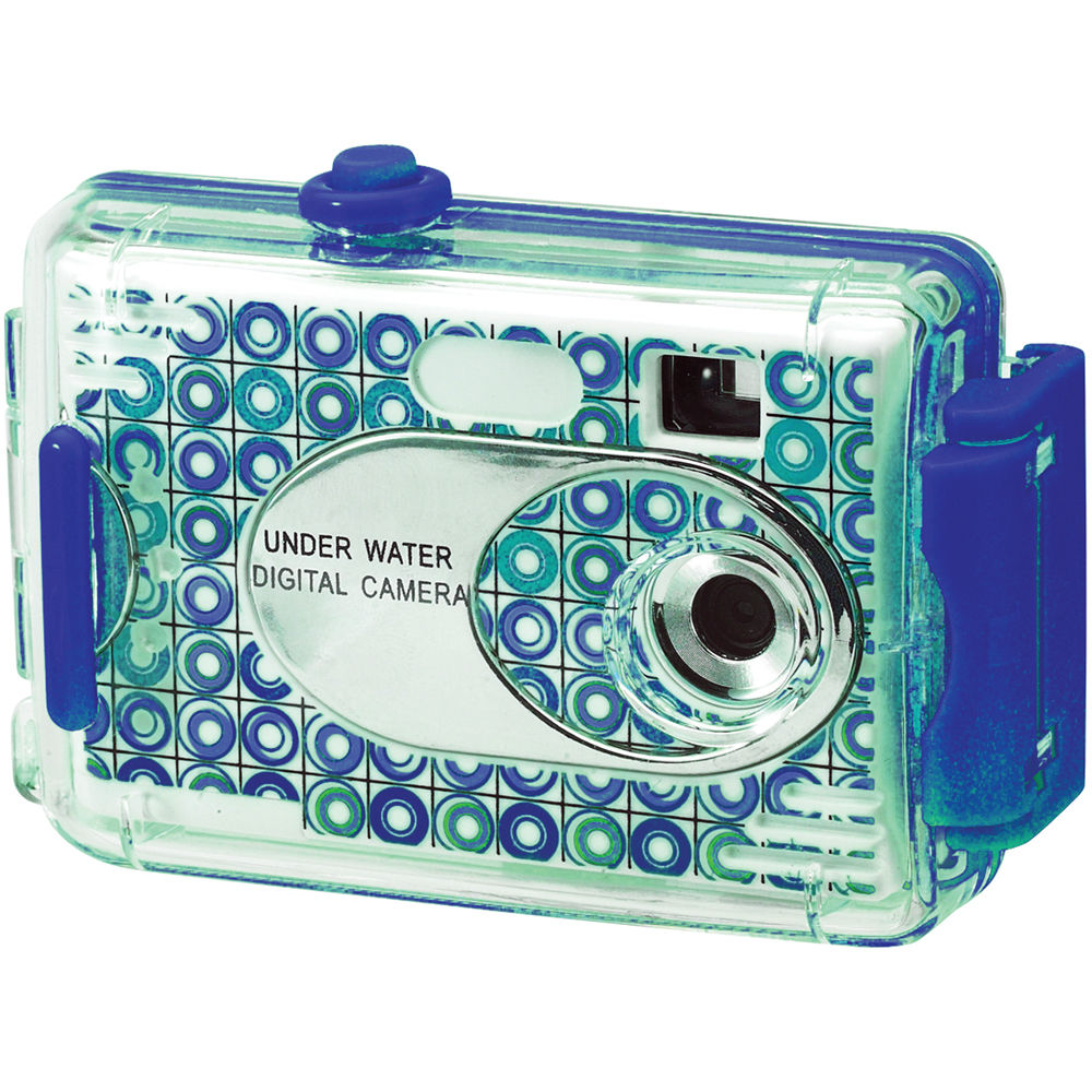 Vivitar AquaShot Underwater Digital Camera 26693-BLUE-KM B&H