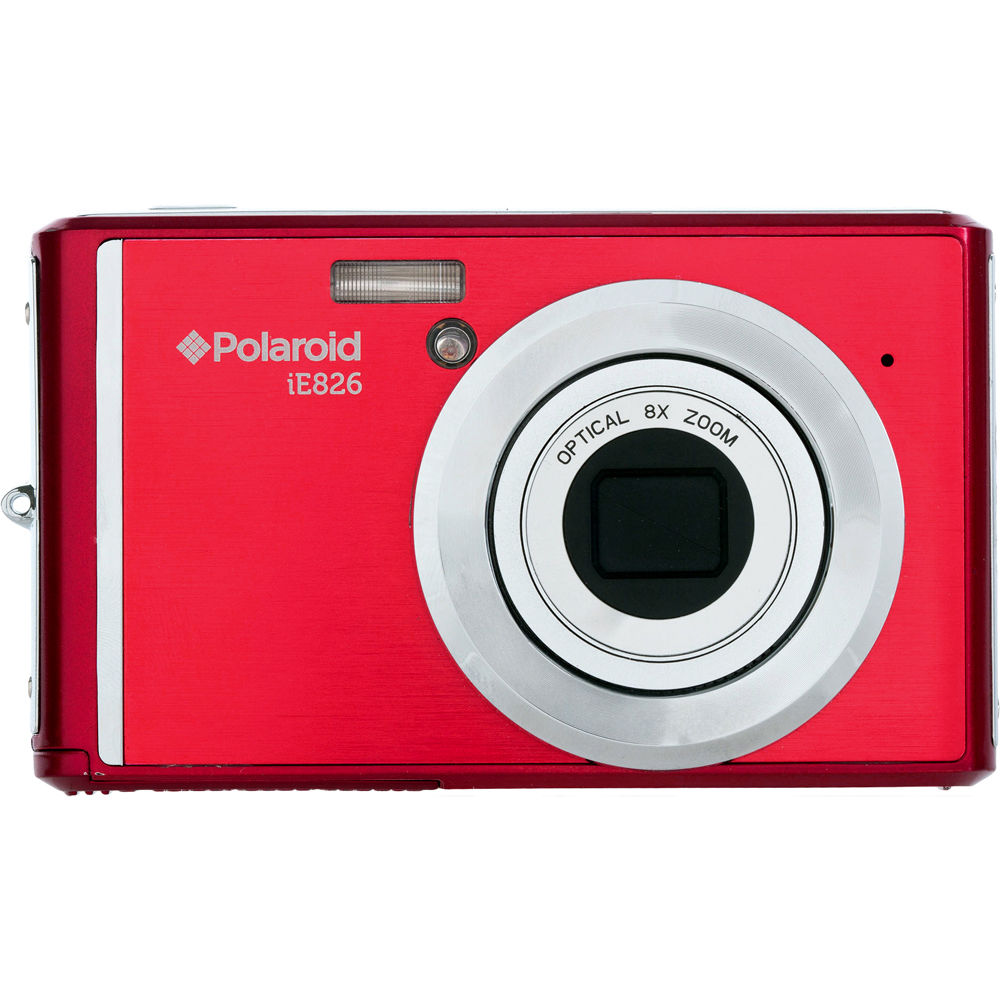 polaroid ie826 digital camera red ie826 red b h photo video rh bhphotovideo com