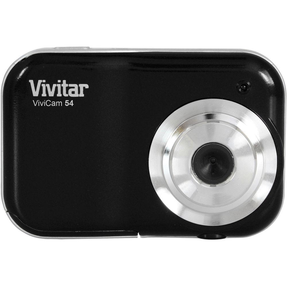 vivitar vivicam 54 digital camera black v54 blk b h photo rh bhphotovideo com vivitar mini digital camera manual pdf vivitar binoculars with digital camera manual