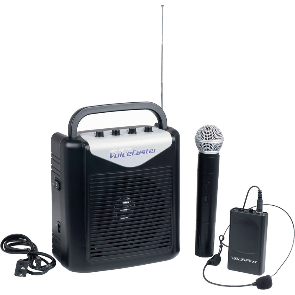 Wireless Microphone System Portable : vocopro voicecaster battery powered portable pa voicecaster 2 ~ Russianpoet.info Haus und Dekorationen