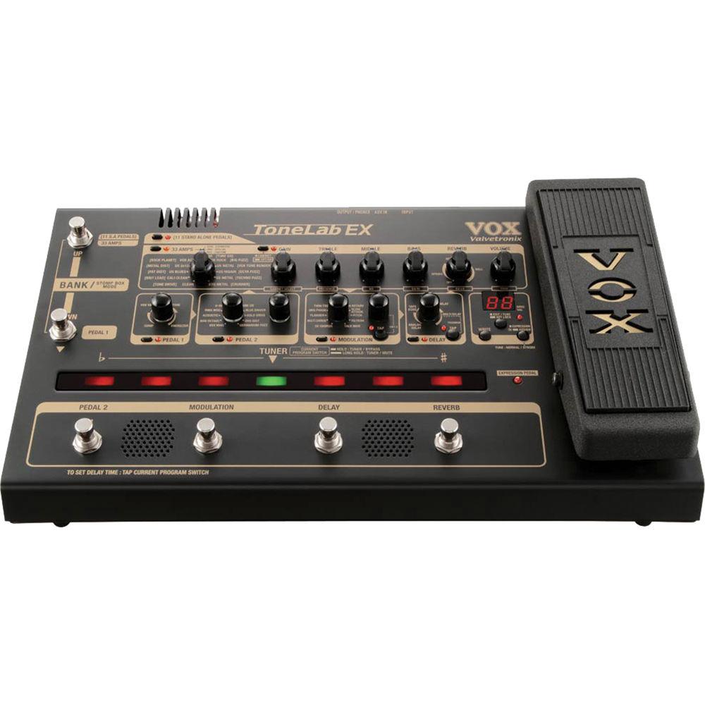 vox tonelab ex multi effects floor pedal tonelabex b h photo. Black Bedroom Furniture Sets. Home Design Ideas