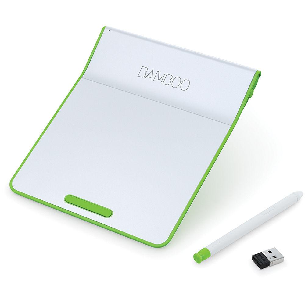 Wacom Bamboo Pad Wireless (Green) CTH300E B&H Photo Video