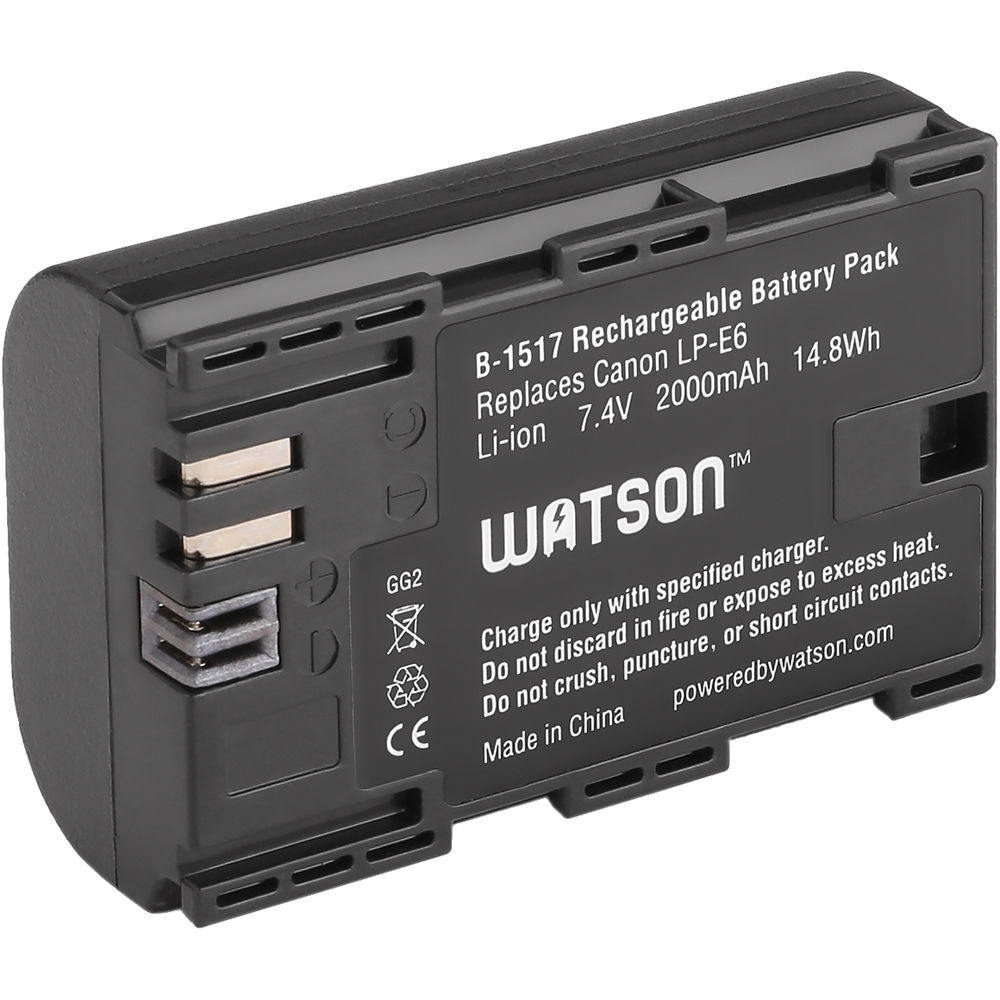 Lithium Ion Battery Pack Watson LP-E6 Lithium-I...